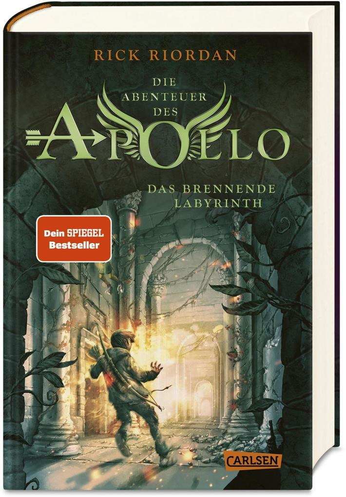 Die Abenteuer des Apollo 3: Das brennende Labyrinth als Buch (gebunden)
