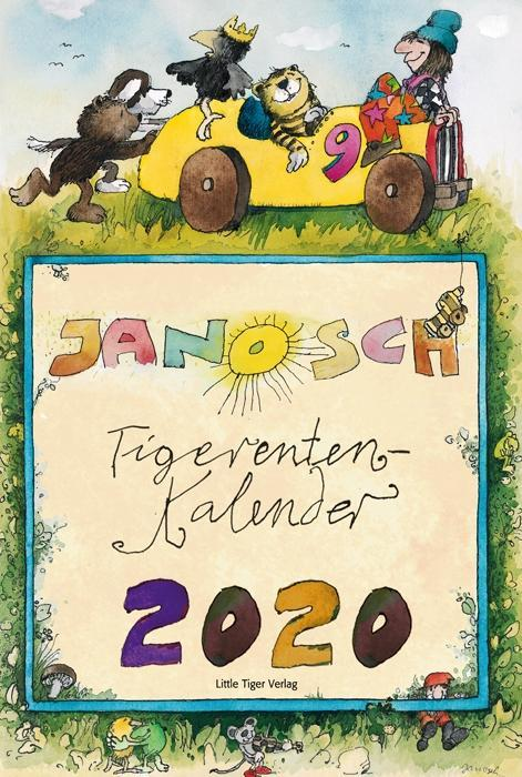 Janosch Tigerentenkalender 2020 als Kalender