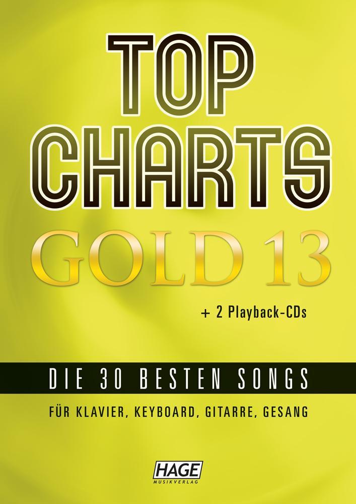 Top Charts Gold 13 (mit 2 CDs) als Buch