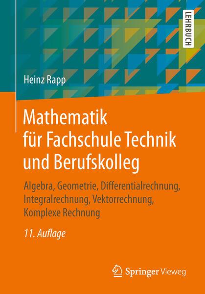 Mathematik für Fachschule Technik und Berufskolleg als Buch