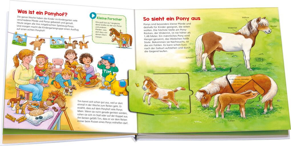 Komm mit auf den Ponyhof BOOKii® Starter-Set Noa WAS IST WAS Kindergarten