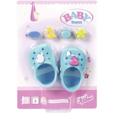Ab 3 Jahren BABY born® Clogs mit Pins Kleidung & Accessoires Babypuppen & Zubehör