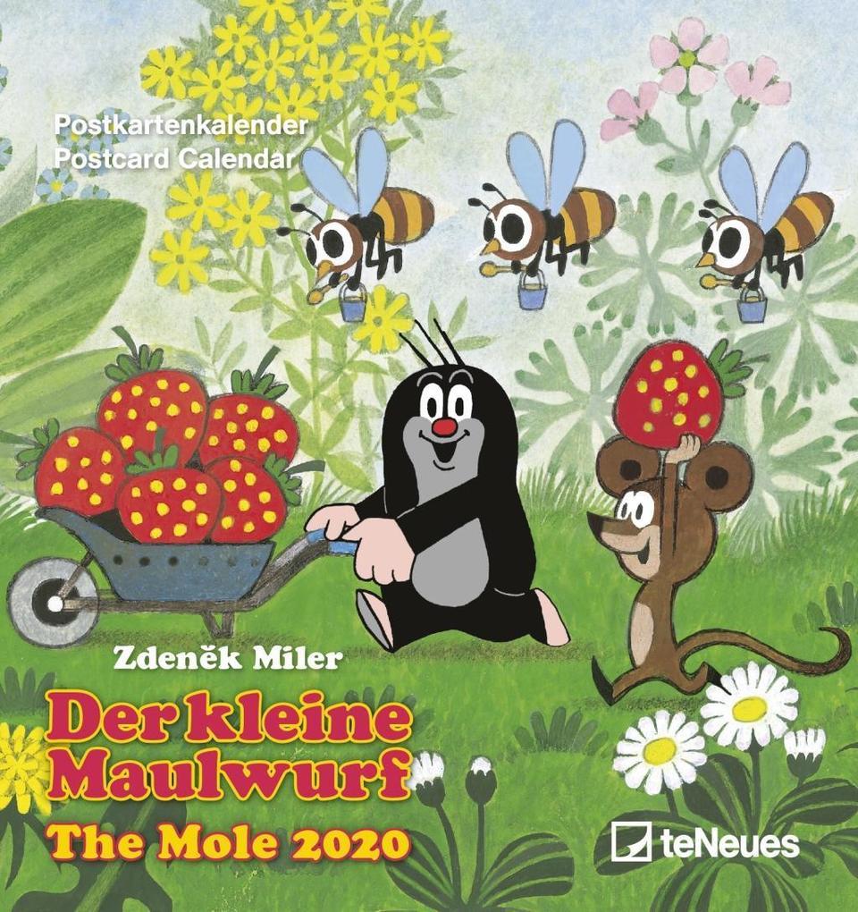 Der kleine Maulwurf 2020. Postkartenkalender als Kalender