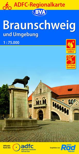 ADFC-Regionalkarte Braunschweig und Umgebung 1:75.000 als Buch