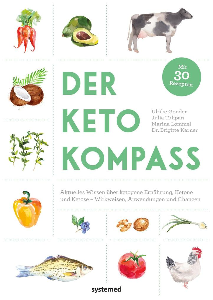 Der Keto-Kompass als Buch