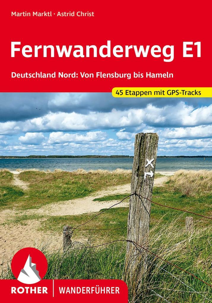 Fernwanderweg E1 Deutschland Nord als Buch