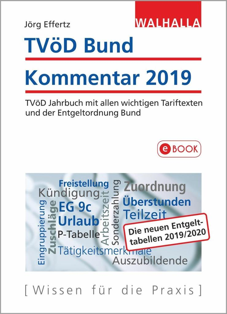TVöD Bund Kommentar 2019 als eBook
