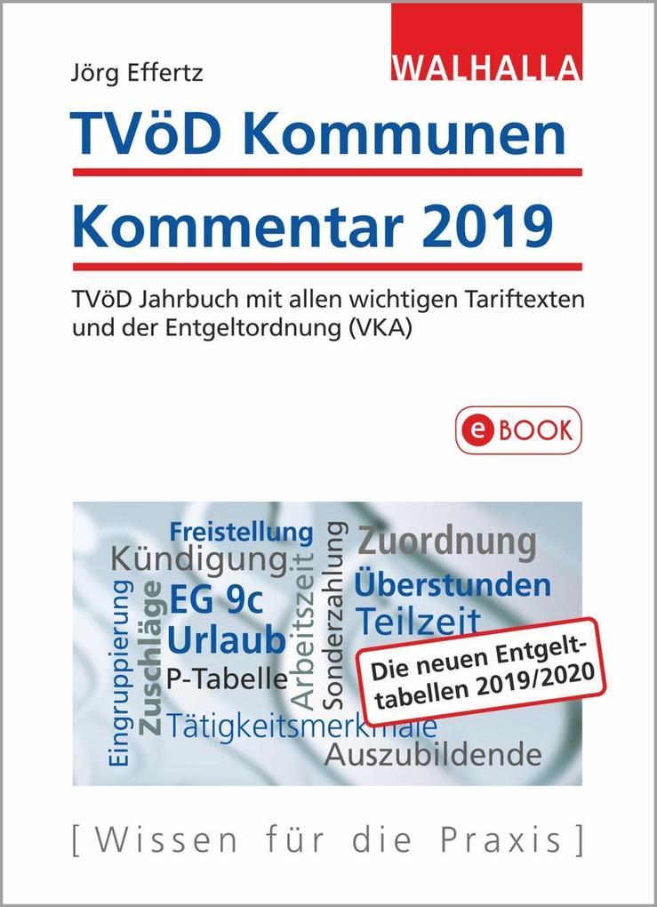 TVöD Kommunen Kommentar 2019 als eBook