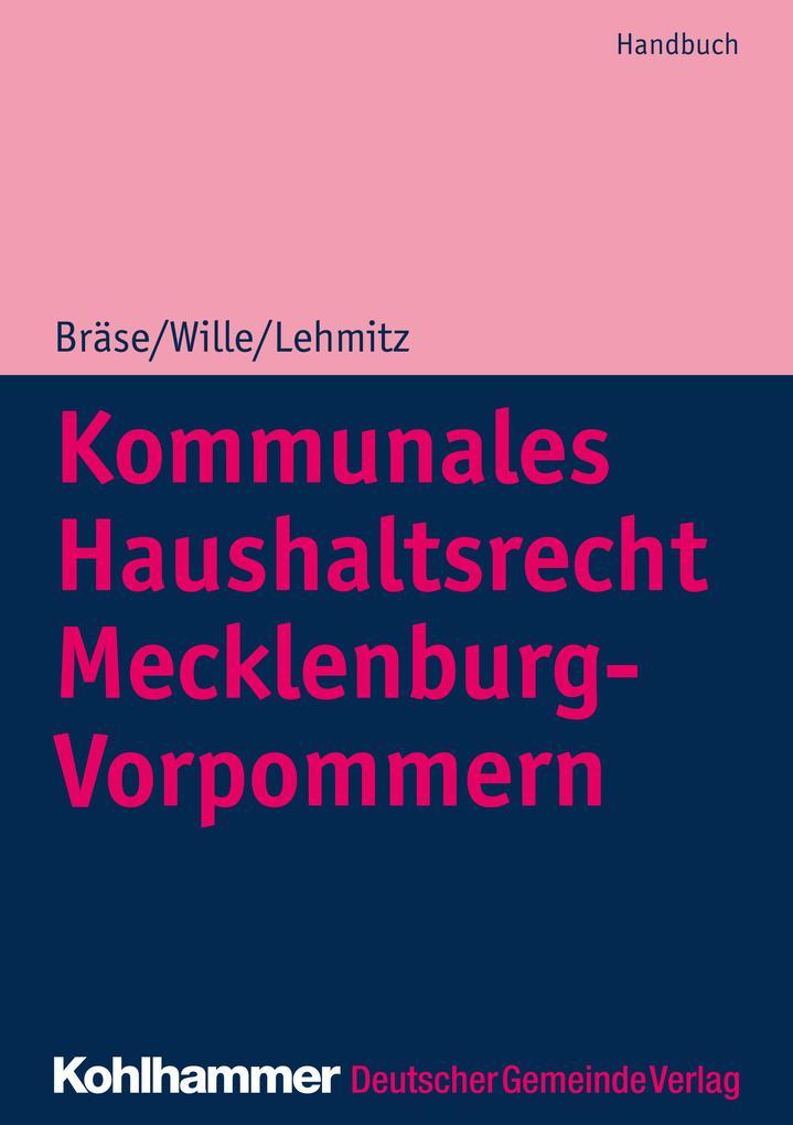 Kommunales Haushaltsrecht Mecklenburg-Vorpommern als eBook