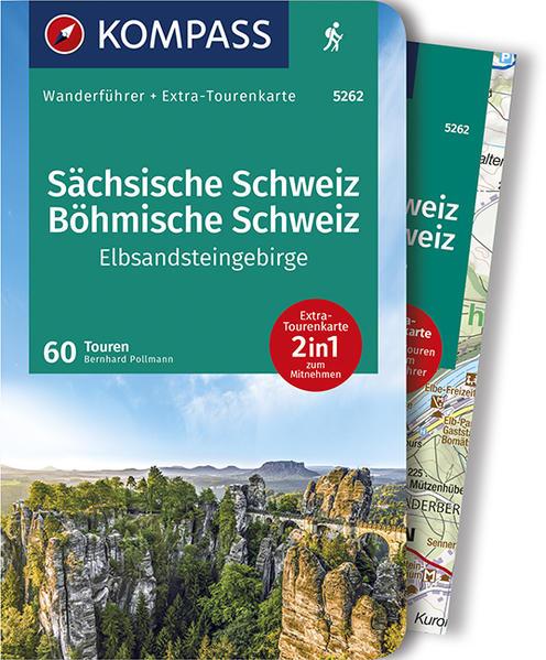 KOMPASS Wanderführer Sächsische Schweiz, Böhmische Schweiz, Elbsandsteingebirge als Buch