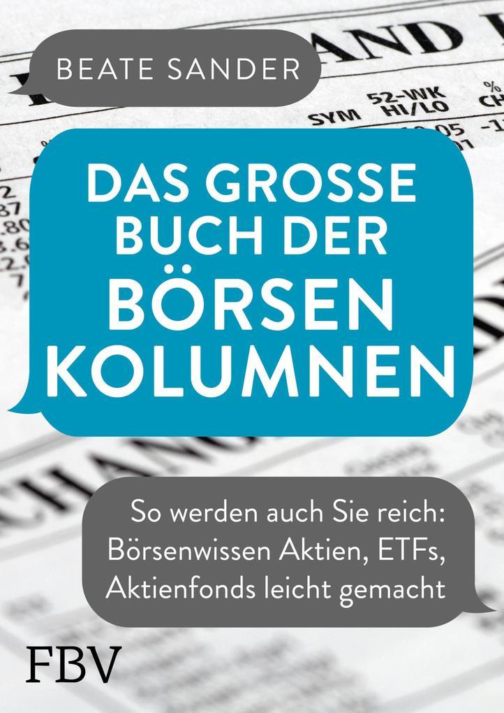 Das große Buch der Börsenkolumnen als eBook