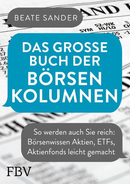 Das große Buch der Börsenkolumnen als Buch