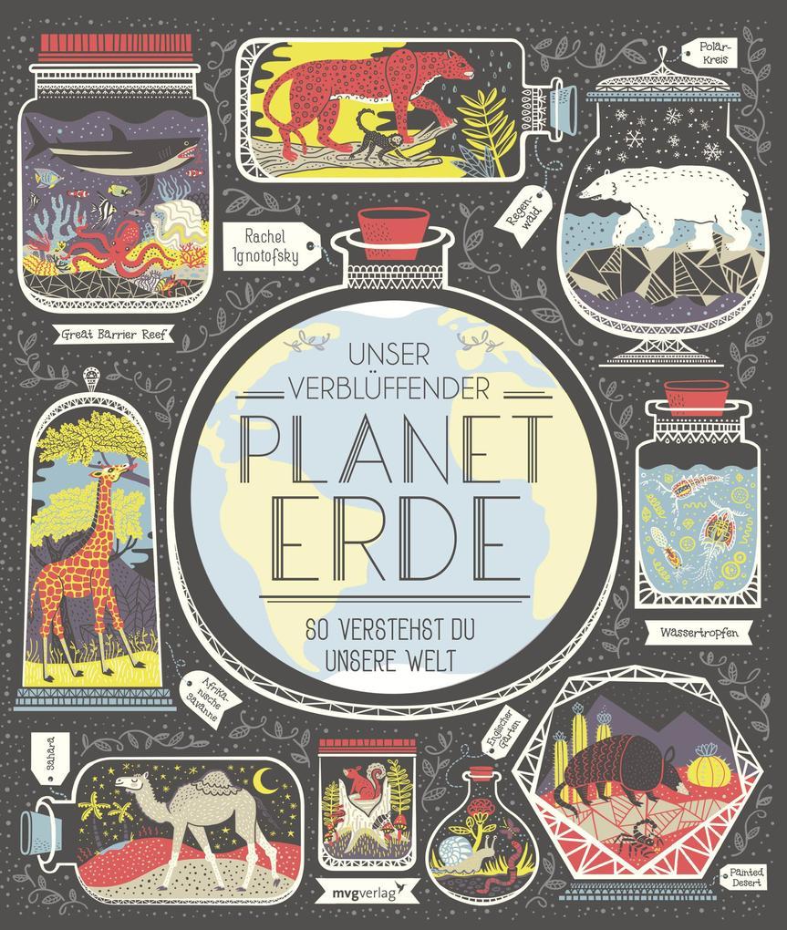 Unser verblüffender Planet Erde als Buch