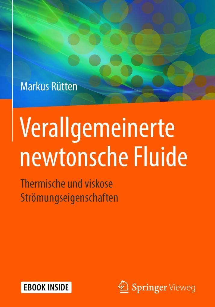 Verallgemeinerte newtonsche Fluide als eBook pdf