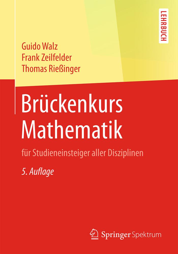 Brückenkurs Mathematik als Buch