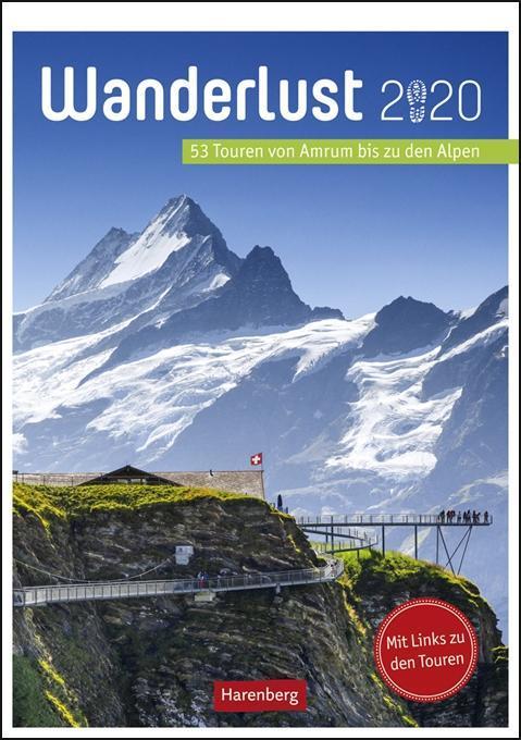 Wanderlust - Kalender 2020 als Kalender
