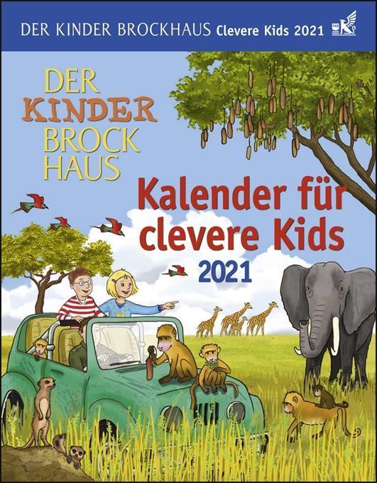Der Kinder Brockhaus Kalender für clevere Kids - Kalender 2020 als Kalender