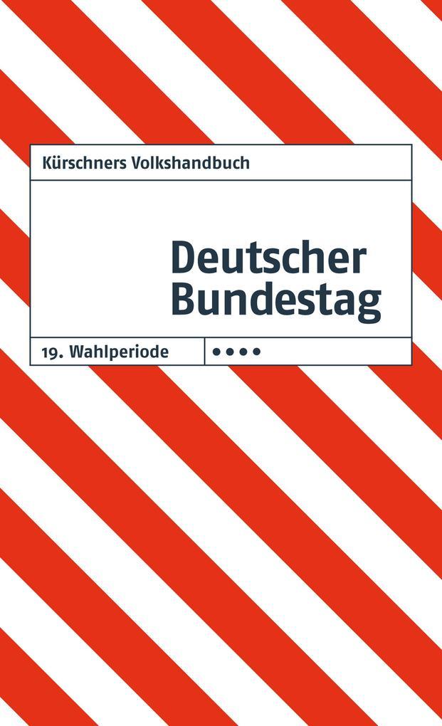 Kürschners Volkshandbuch Deutscher Bundestag als eBook