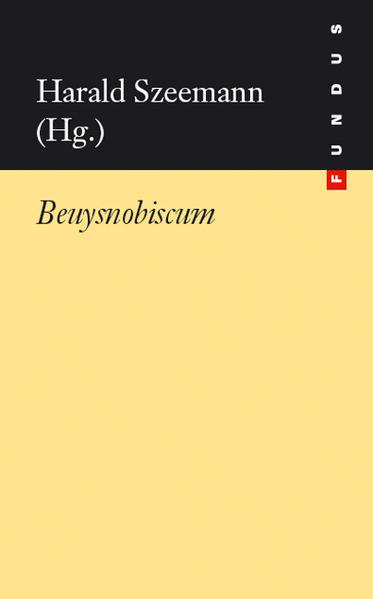 Beuysnobiscum als Buch