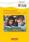 Lernstandserhebungen - Deutsch 3 / Arbeitsheft mit Lösungen