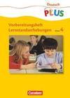 Lernstandserhebungen. Deutsch 4. Arbeitsheft mit Lösungen