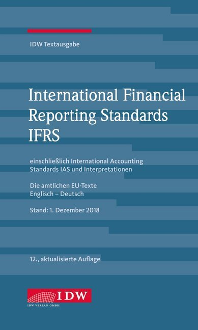 International Financial Reporting Standards IFRS als Buch