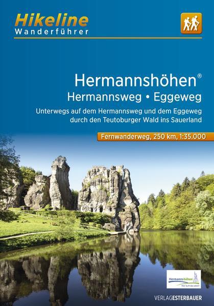 Fernwanderweg Hermannshöhen - Hermannsweg-Eggeweg als Buch