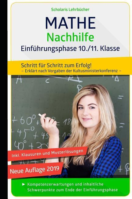 Mathe Nachhilfe 10./11. Klasse Einführungsphase als Taschenbuch