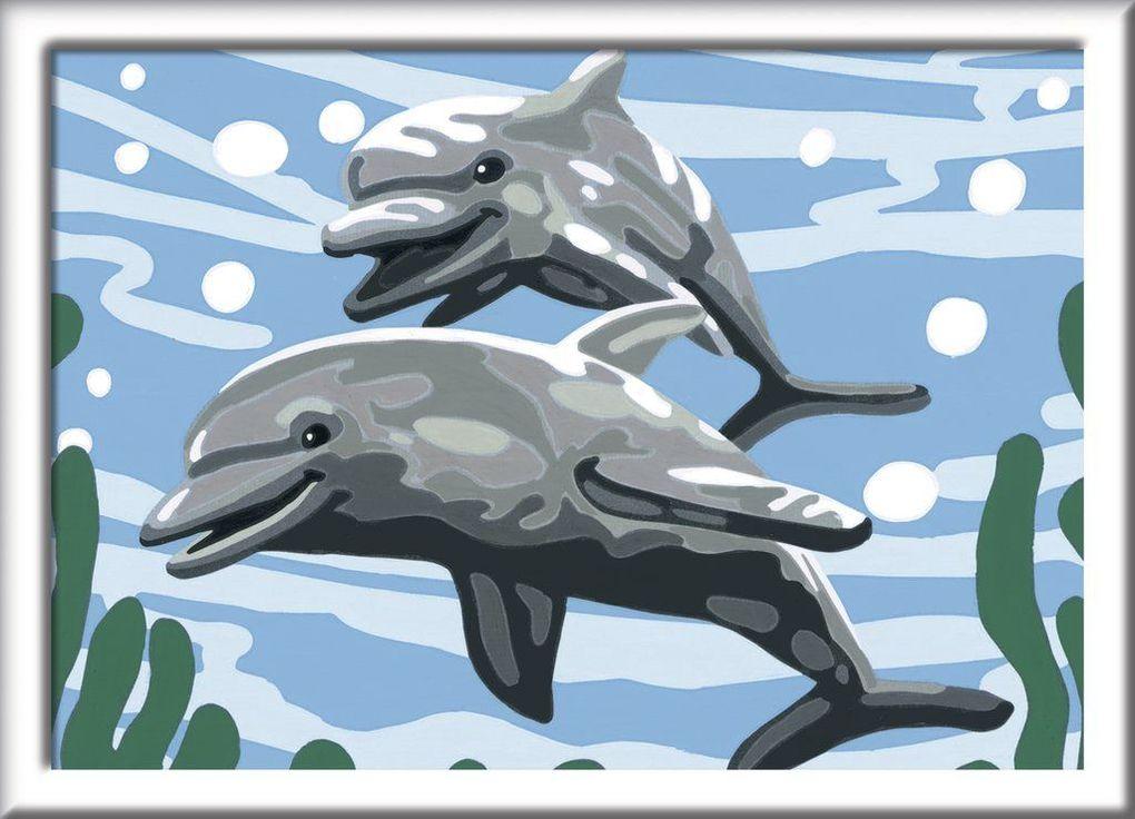 delfin malen leicht