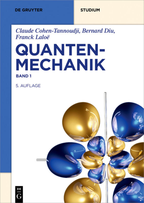 Quantenmechanik Band 1 als Buch (kartoniert)