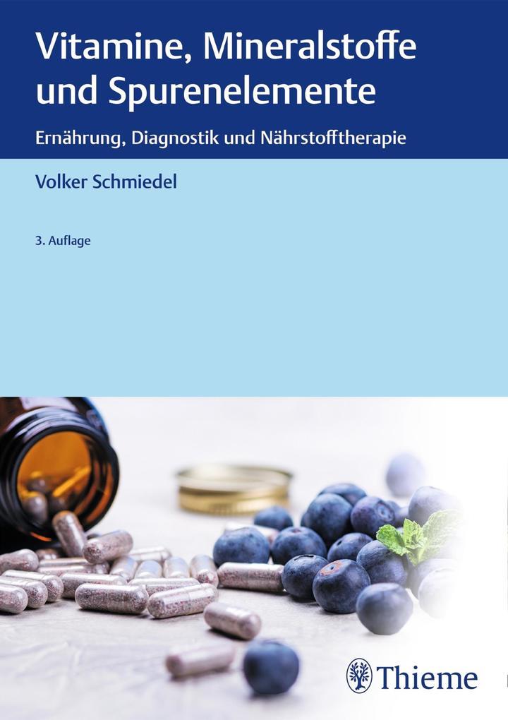 Vitamine, Mineralstoffe und Spurenelemente als eBook