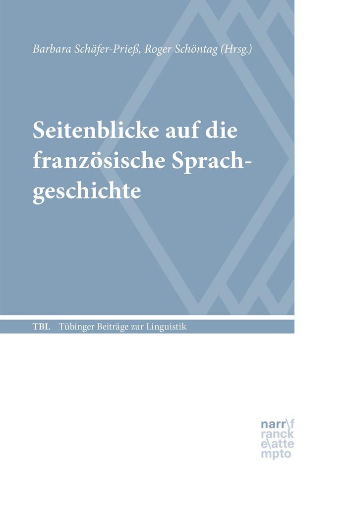 Seitenblicke auf die französische Sprachgeschichte als eBook