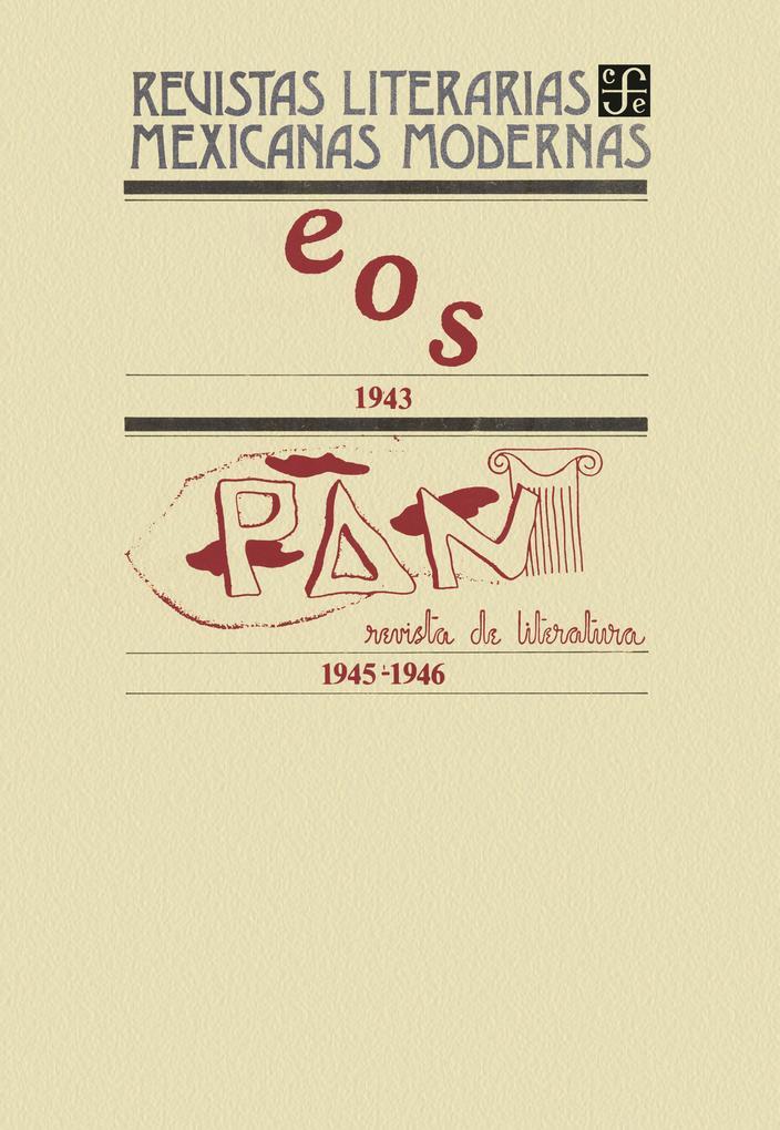 Eos 1943-Pan. Revista de literatura 1945-1946