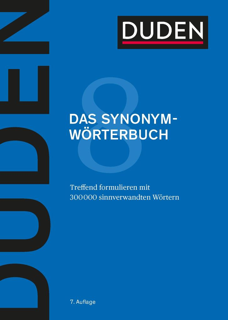 Duden - Das Synonymwörterbuch (E-Book) als eBook