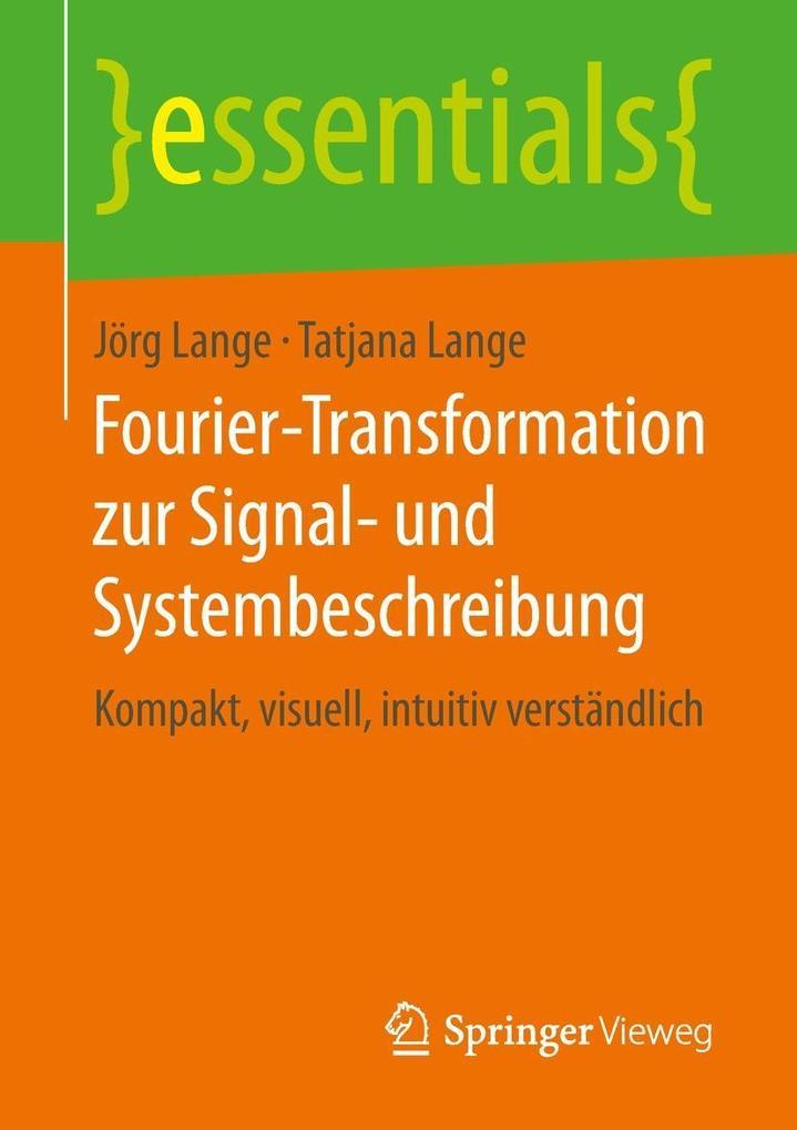 Fourier-Transformation zur Signal- und Systembeschreibung als eBook