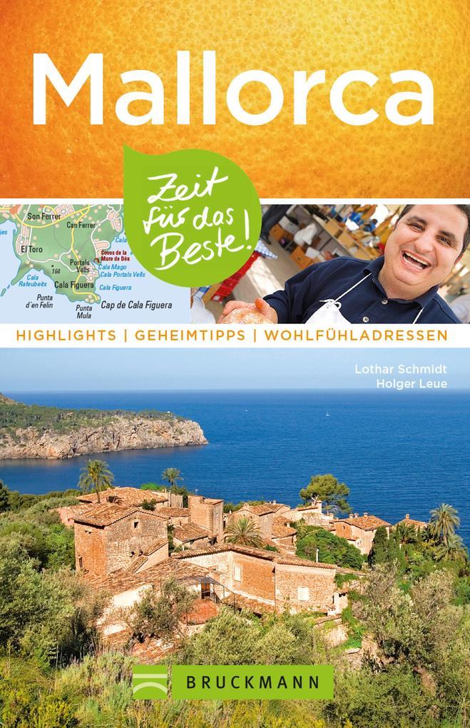 Bruckmann Reiseführer Mallorca: Zeit für das Beste