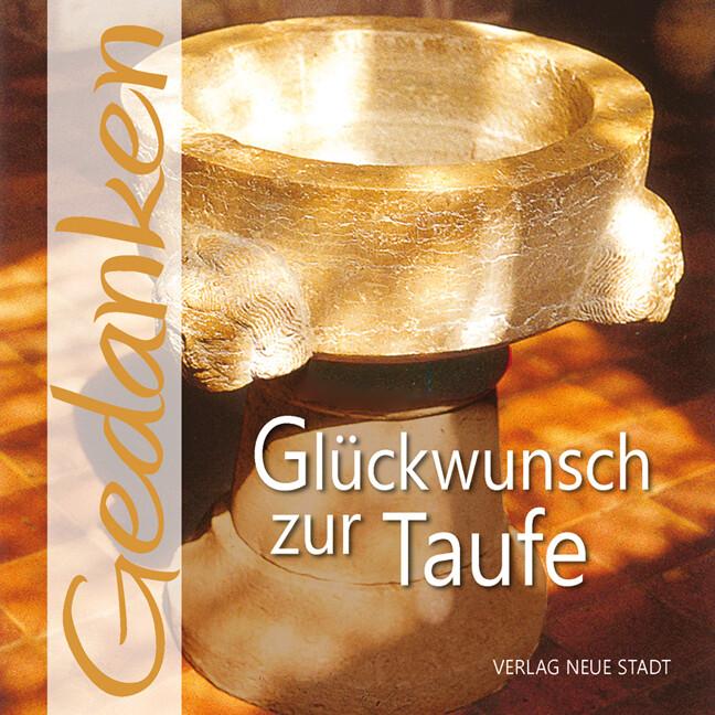 Glückwunsch zur Taufe als Buch (gebunden)