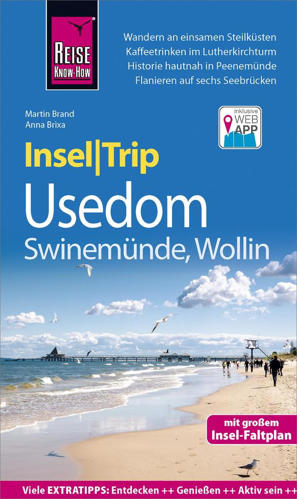 Reise Know-How InselTrip Usedom mit Swinemünde und Wollin als eBook