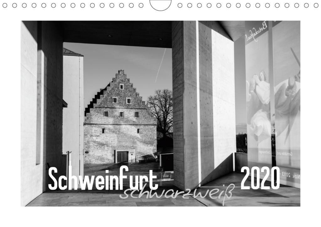 Schweinfurt schwarzweiß (Wandkalender 2020 DIN A4 quer)