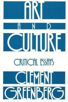 Art and Culture als Taschenbuch