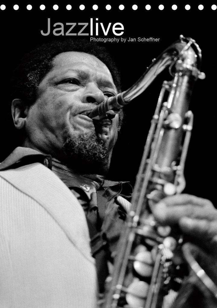 Jazz live (Tischkalender 2020 DIN A5 hoch)