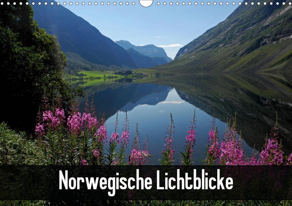Norwegische Lichtblicke (Wandkalender 2020 DIN A3 quer)