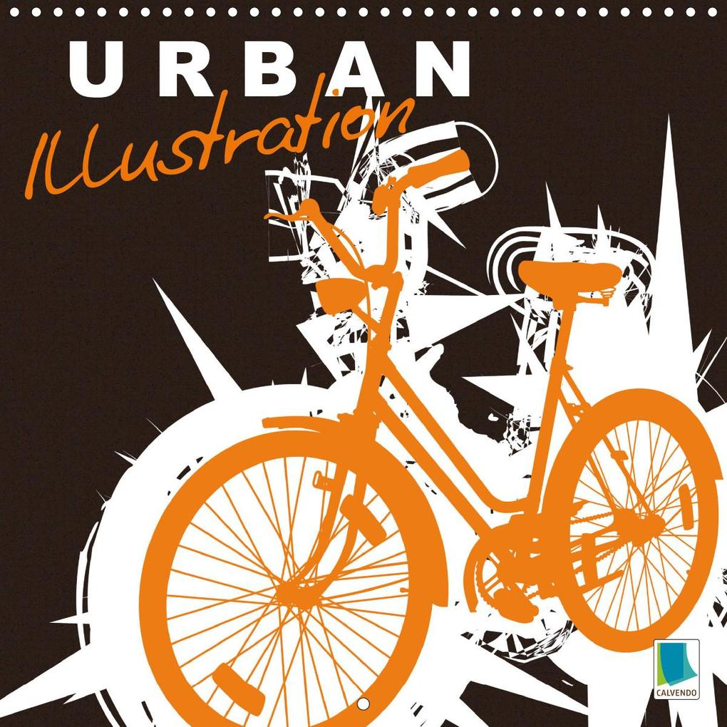 Urban illustration (Wall Calendar 2020 300 × 300 mm Square) als Kalender