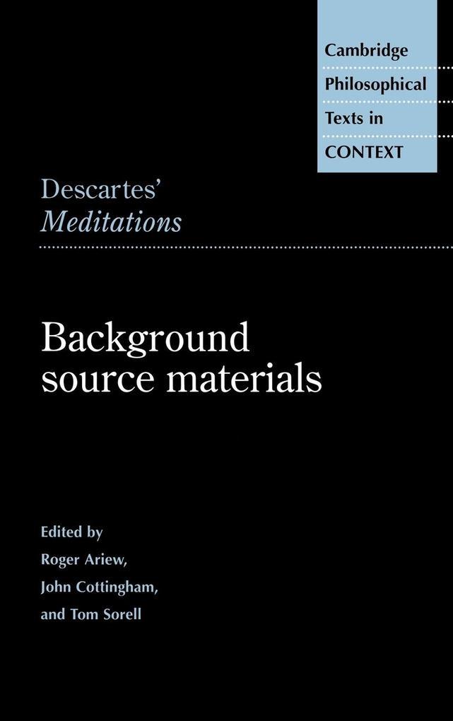 Descartes' Meditations als Buch (gebunden)