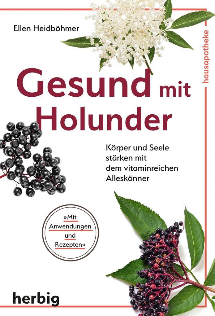 Gesund mit Holunder als Buch