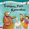 Trompete, Flöte, Kontrabass
