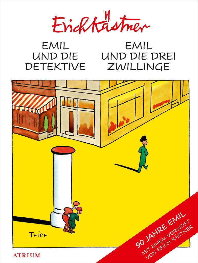 Emil und die Detektive & Emil und die drei Zwillinge als Buch (gebunden)