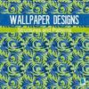 Wallpaper designs - structures and patterns (Wall Calendar 2020 300 × 300 mm Square)