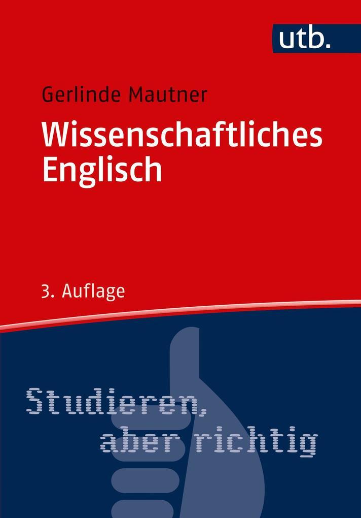 Wissenschaftliches Englisch als Buch