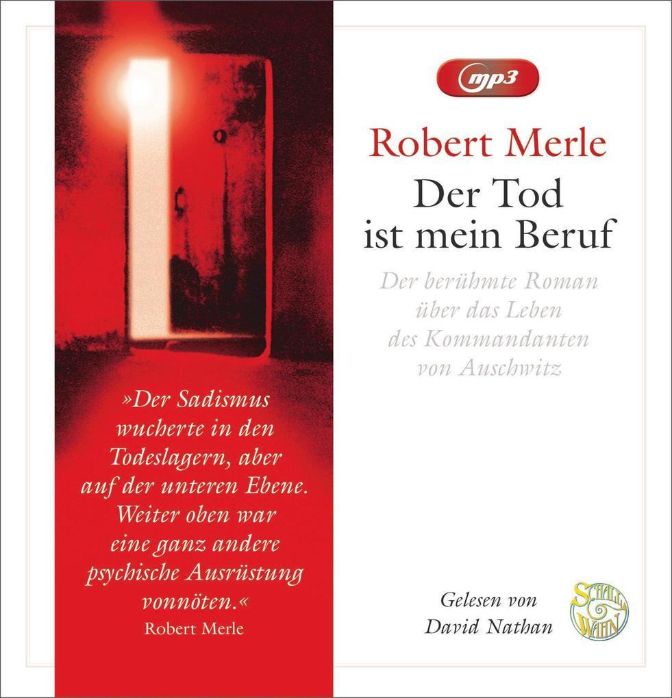Merle, R: Tod ist mein Beruf als Hörbuch CD